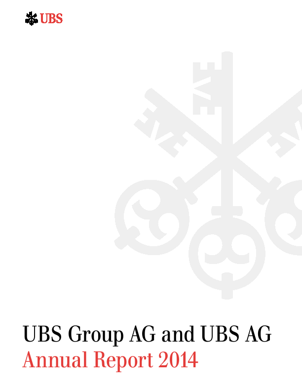 Ubs Group Annual Report 2014ubs