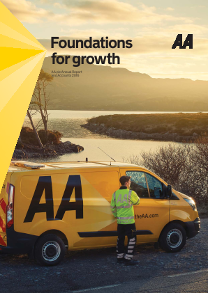 AA Plc annual report 2016