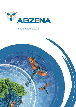 Abzena Ltd annual report 2016