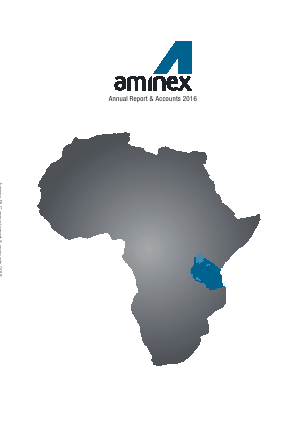 Aminex annual report 2016