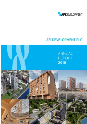 AFI Development Plc annual report 2016