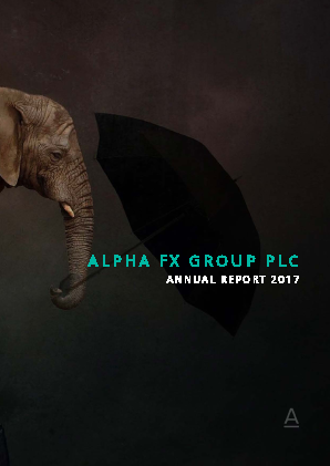 Alpha FX Group annual report 2017