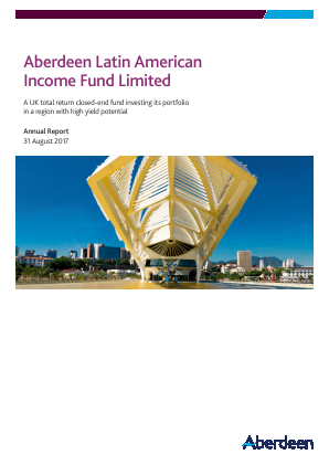 Aberdeen Latin American Income Fund annual report 2017