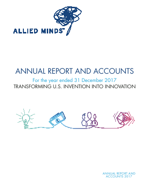 Allied Minds annual report 2017