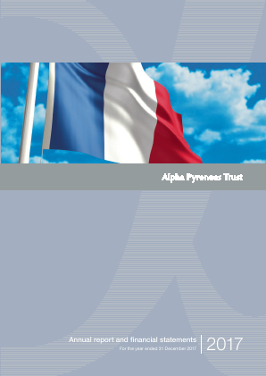 Alpha Pyrenees Trust annual report 2017