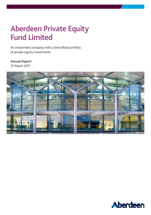 Aberdeen Private Equity Fund annual report 2017
