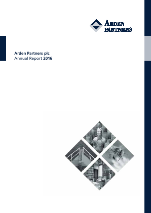 Arden Partners Plc annual report 2016