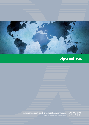 Alpha Real Trust annual report 2017