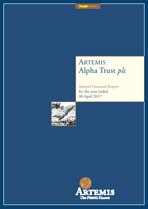 Artemis Alpha Trust annual report 2017