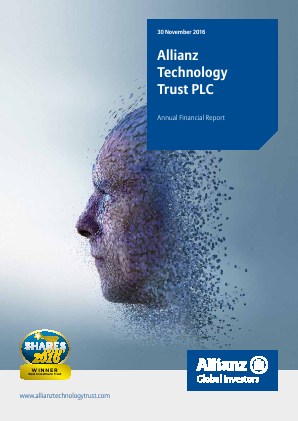 Allianz Technology Trust Plc annual report 2016