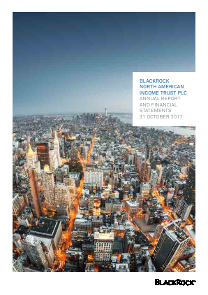 Blackrock North American Income Trust Plc annual report 2017