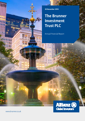 Brunner Investment Trust annual report 2016