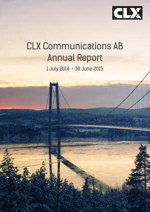 CLX Communications annual report 2015