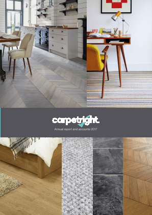 Carpetright annual report 2017
