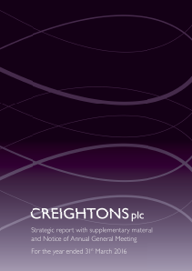 Creightons annual report 2016
