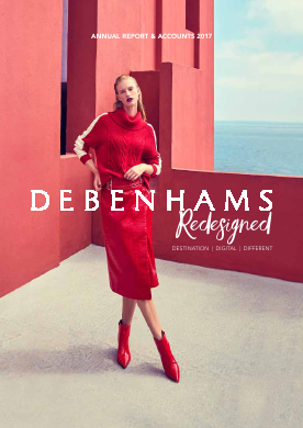 Debenhams Plc annual report 2017