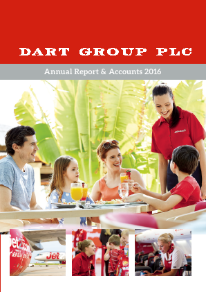 Dart Group Plc annual report 2016