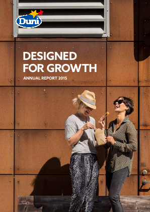 Duni annual report 2015
