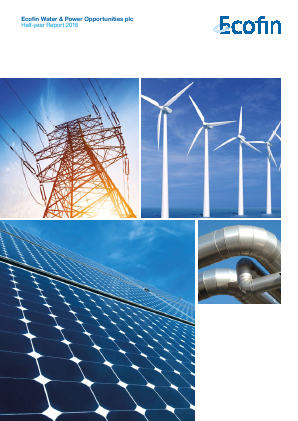 Ecofin Global Utilities and Infrastructure Trust plc (formally Ecofin Water & Power Opportunities) annual report 2016