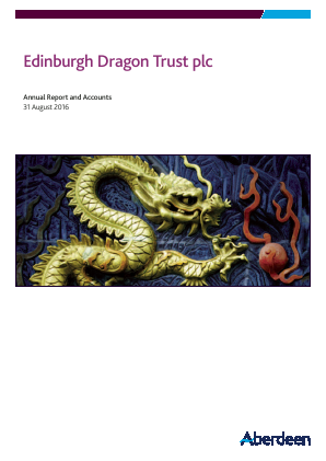 Edinburgh Dragon Trust annual report 2016