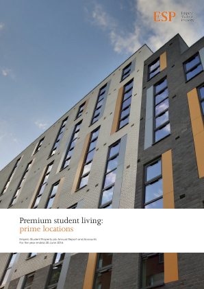 Empiric Student Property Plc annual report 2016