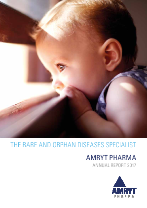 Amryt Pharma (formally Fastnet Equity) annual report 2017