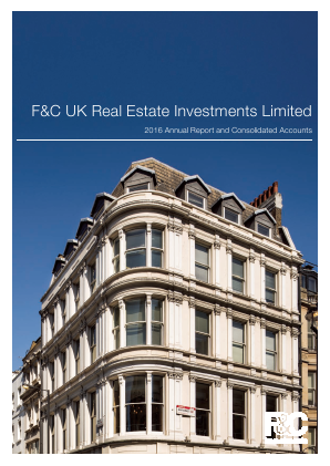 F&C UK Real Estate Investments Ltd annual report 2016