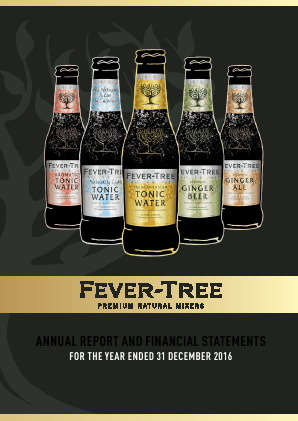 Fevertree Drinks Plc annual report 2016