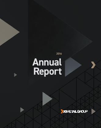 X5 Retail Group NV annual report 2016