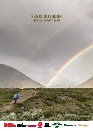 Fenix Outdoor International annual report 2015