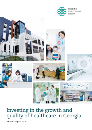 Georgia Healthcare Group annual report 2016