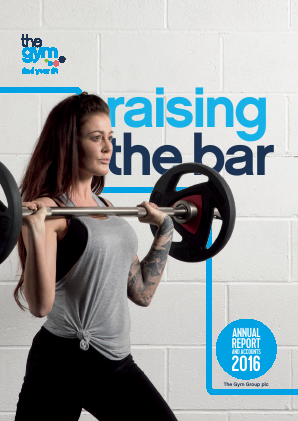 The Gym Group annual report 2016