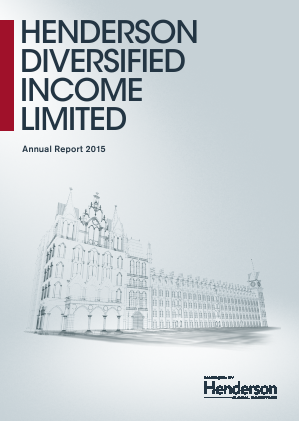 Henderson Diversified Income Ltd annual report 2015