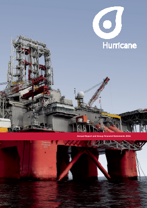 Hurricane Energy Plc annual report 2016