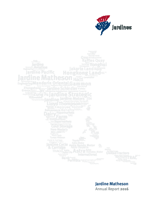 Jardine Matheson Holdings annual report 2016