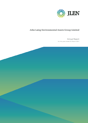 John Laing Environmental Asset Group annual report 2017