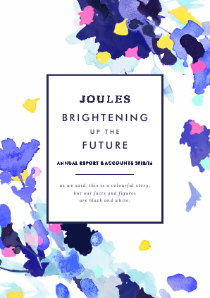 Joules Group annual report 2016