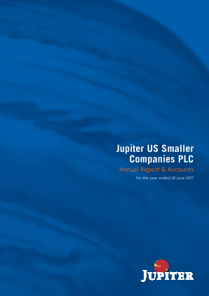 Jupiter US Smaller Companies Plc annual report 2017