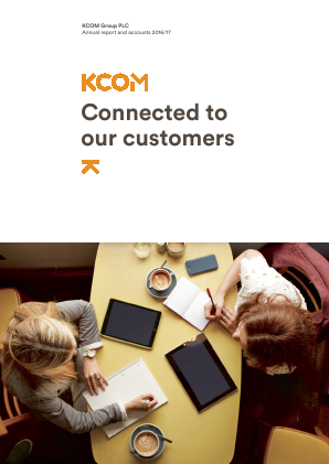KCOM Group Plc annual report 2017