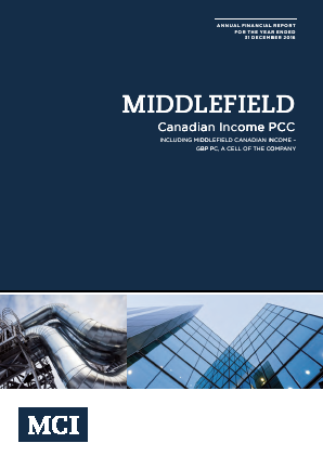 Middlefield Canadian Income PCC annual report 2016