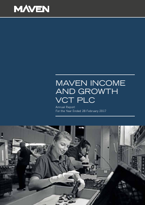 Maven Income & Growth VCT Plc annual report 2017