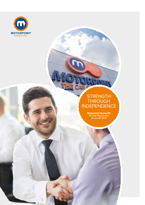 Motorpoint Group annual report 2017