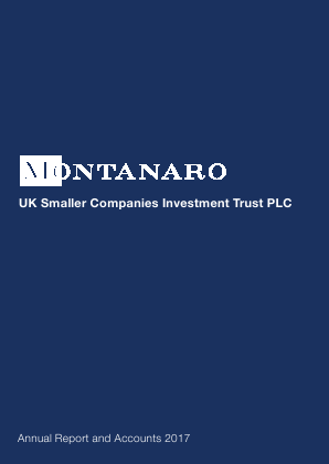 Montanaro UK Smaller Companies Investment Trust annual report 2017