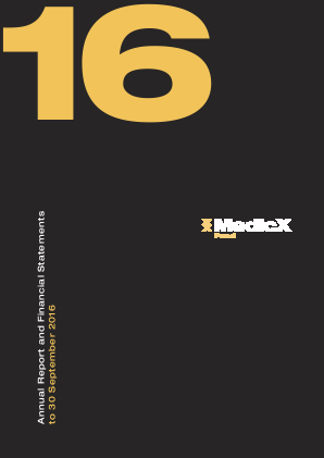 Medicx Fund Ltd annual report 2016