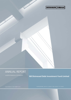 NB Distressed Debt Investment Fund Ltd annual report 2016