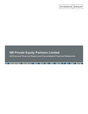NB Private Equity Partners Ltd annual report 2016