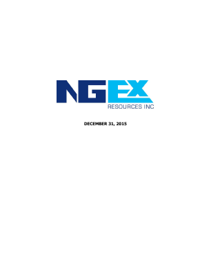 NGEx Resources annual report 2015