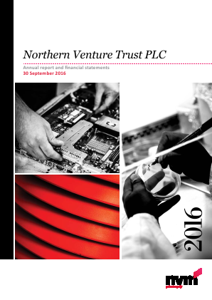 Northern Venture Trust annual report 2016