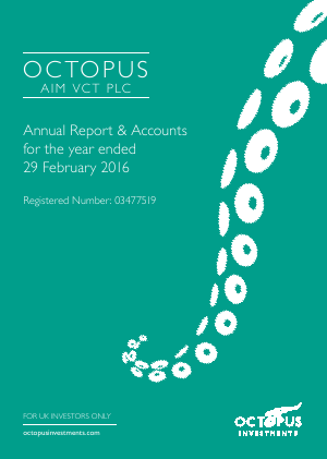 Octopus Aim VCT Plc annual report 2016