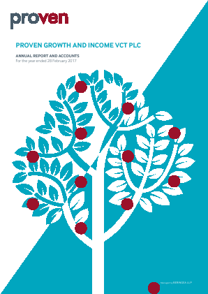 Proven Growth & Income VCT annual report 2017